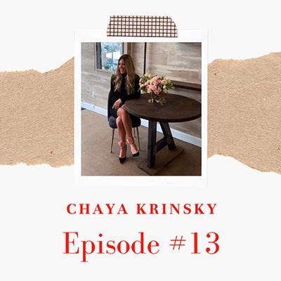 Chaya Krinsky of Tov Furniture