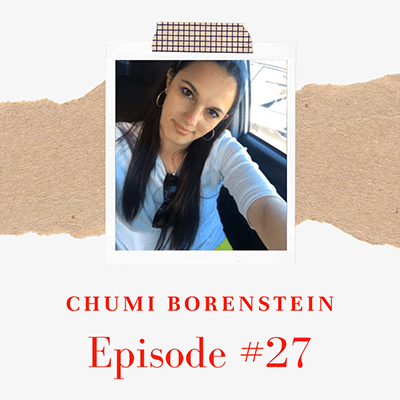 Chumi Borenstein of The Iced Life