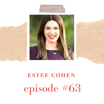 Estee Cohen of California Job Shop