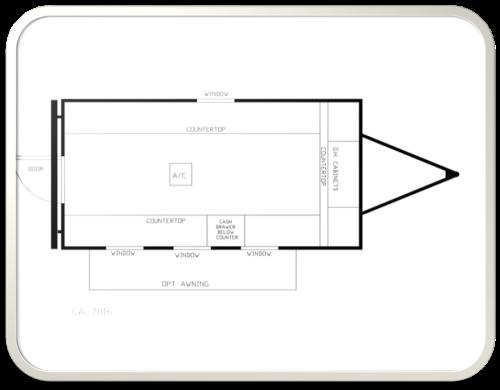 16 cashier auction trailer trailer floor plans model