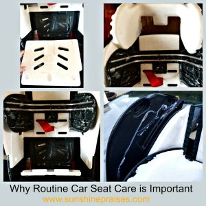 EPS Foam Detached from Diono Car Seat