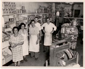 Employees at Mannino's Market