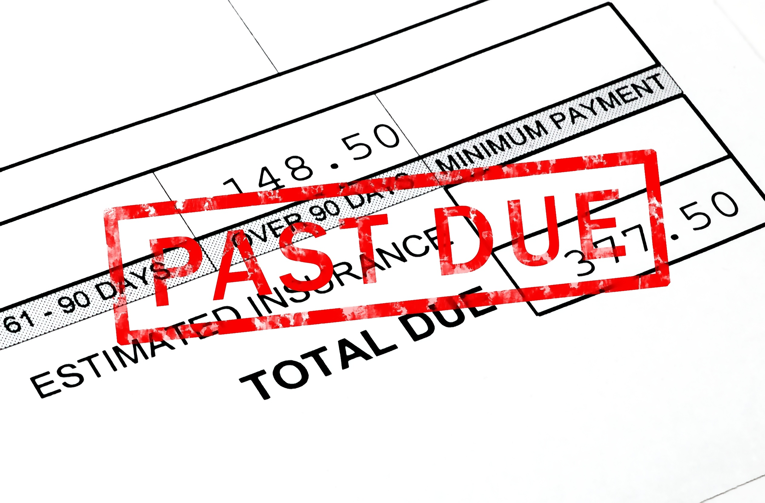 CDTFA past due payment