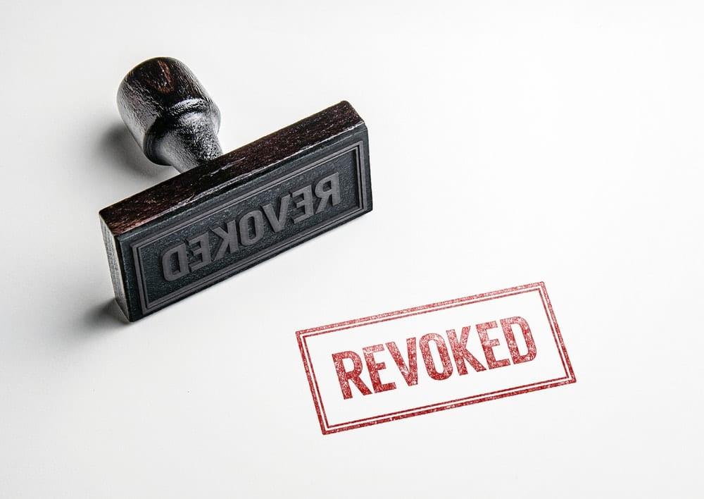 CDTFA sellers permit revoked