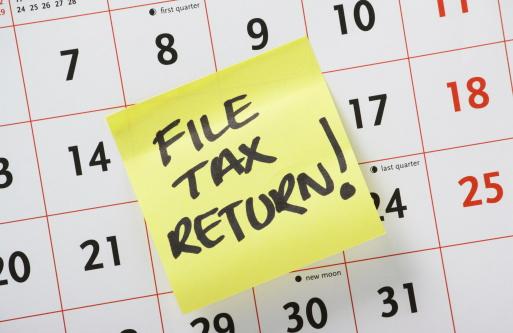 California Income Tax Return Deadline