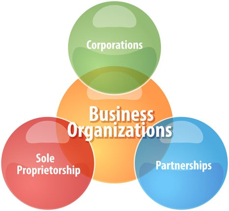 Sole-Proprietorship, Partnership, S-Corp