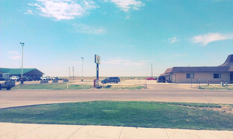 Outside Topeka, Kansas