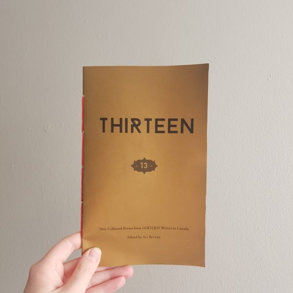 Thirteen Chapbook cover image