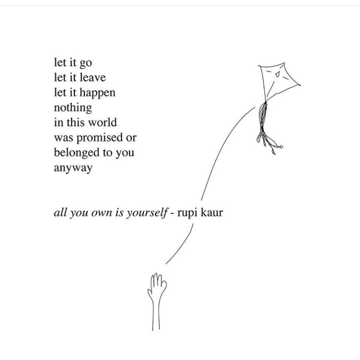An example of Instagram poetry, Rupi Kaur