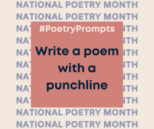 Write a poem with a punchline