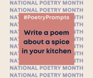 Write a poem about a spice in your kitchen