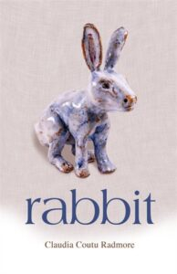 Cover of Rabbit by Claudio Coutu Radmore featuring a porcelain figurine of a rabbit on a neutral background.