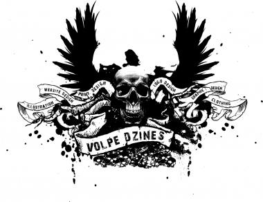 T-shirt design - Volpe D-Zines