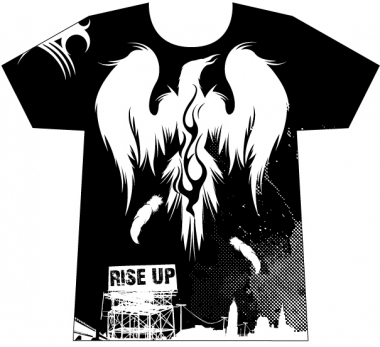 T-shirt design - Rise Up