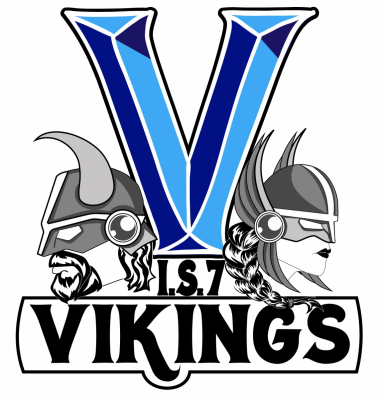 IS 7 Vikings - school logo