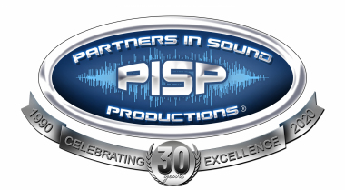 Partners In Sound 30 year logo