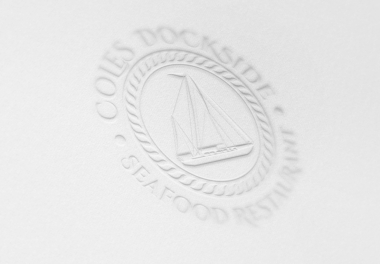 Cole's Dockside Logo - pressed