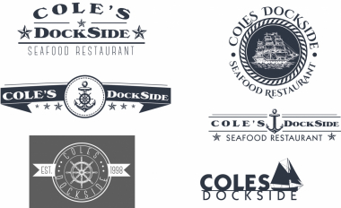 Cole's Dockside Logo - concepts
