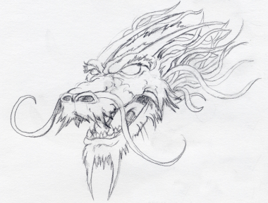 Dragon Head Sketch