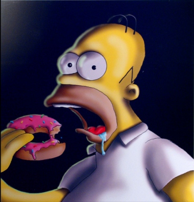 Homer S. - digital painting