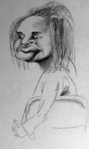 Quick sketch - life study