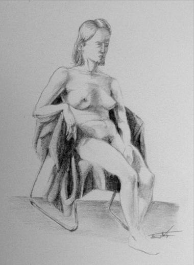Nude life study