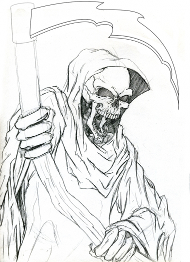 Custom Tattoo - Reaper