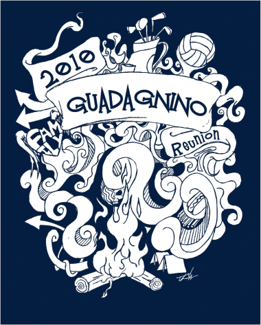 Guad Family Reunion t-shirt design