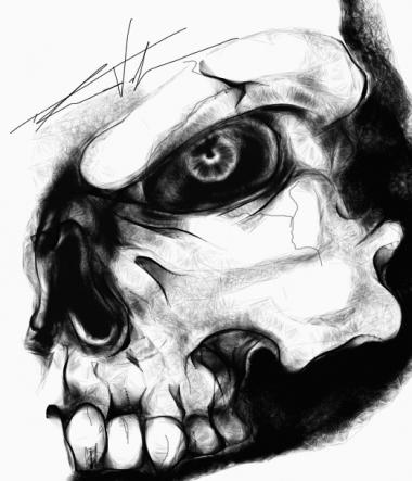 Quick Sketch - Skull