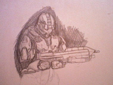 Spartan - quick sketch