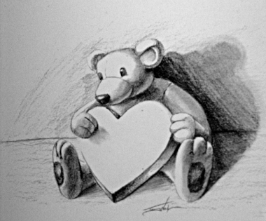 Quick Sketch - Love Bear
