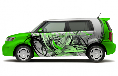 Car Wrap - mock up