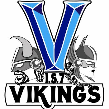 IS 7 Vikings - school logo