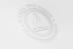 Cole's Dockside Logo - pressed