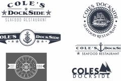 Cole's Dockside Logo - concepts