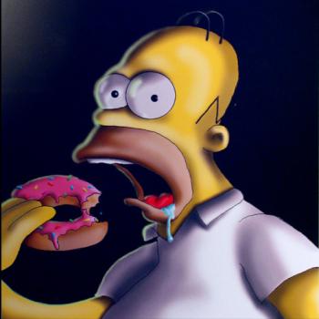 Homer S. - digital painting