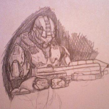 Spartan - quick sketch