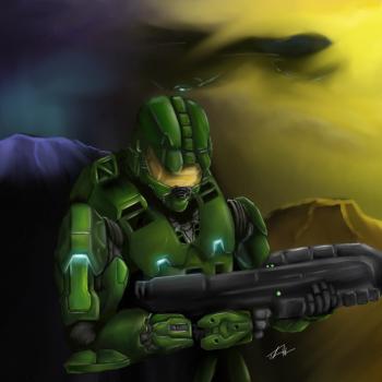 Spartan  - Digital Painting