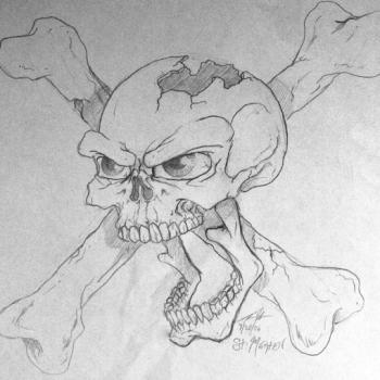 Quick Sketch - Skull & Bones