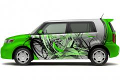 Car Wrap - mock up