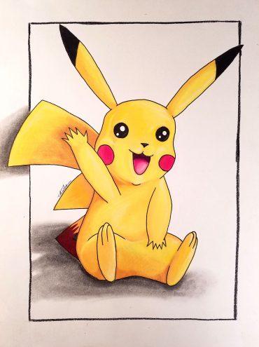 Pikachu Waving