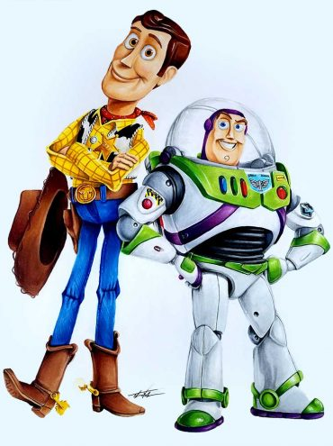 Toy Story - Buzz & Woody