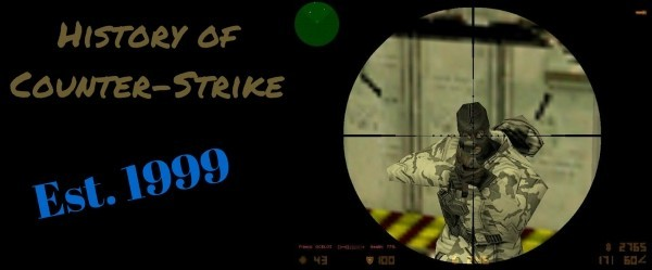 History of Counter Strike Banner