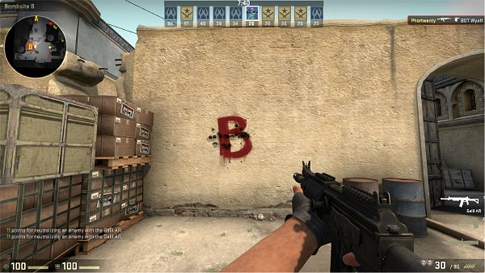 How to Strafe-Shoot in Counter-Strike: Global Offensive Practice 2 Strafe