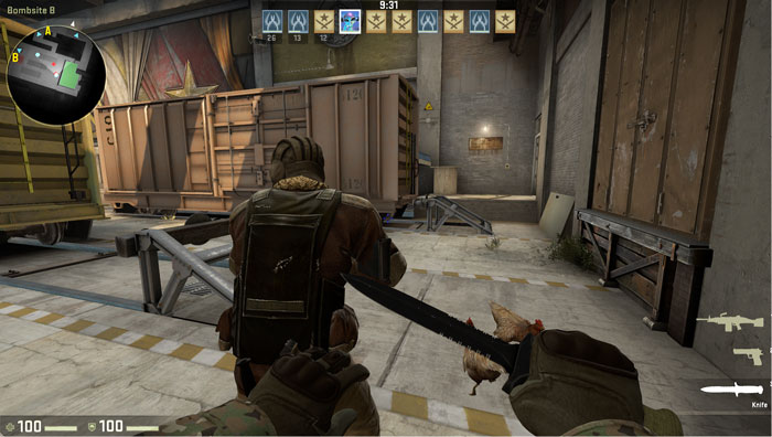 How to Effectively Use a Knife in Counter-Strike 4