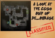 A Look at the Map de_mirage in Counter-Strike