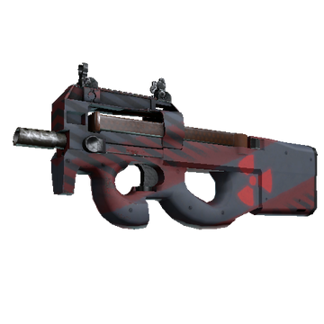 Counter-Strike: Global Offensive Weapon Reference: StatTrak P90 Fallout Warning