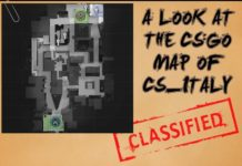 A Look at the Map cs_italy in Counter-Strike
