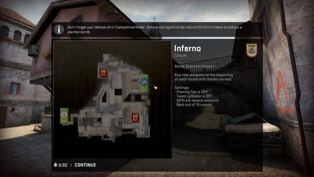 Map de_inferno Main