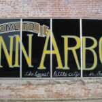 Welcome To Ann Arbor sign